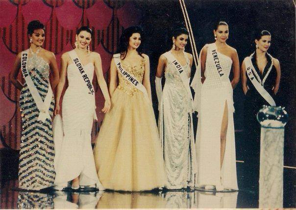 The top 6 of Miss Universe 1994
