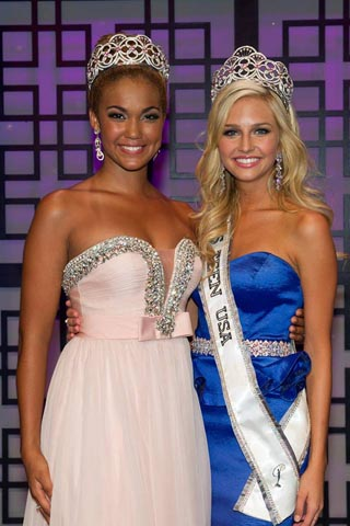 Miss Teen USA 2012, Logan West and Miss Teen USA 2013, Cassidy Wolf