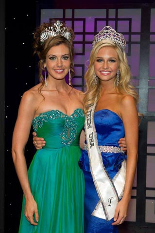 Miss USA 2013, Erin Brady and Miss Teen USA 2013, Cassidy Wolf