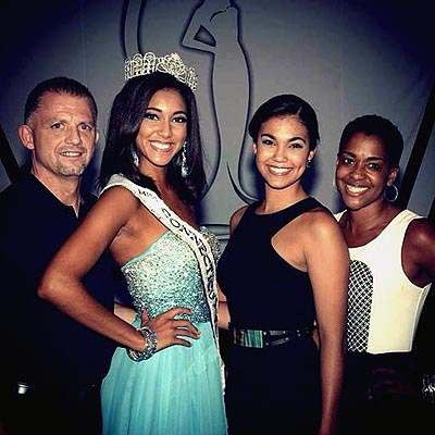 The West family including Sydney West, Miss Connecticut Teen USA 2014 and Logan West, Miss Teen USA 2012