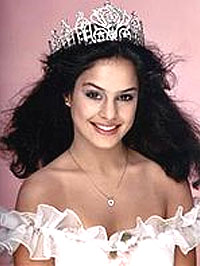 The first Miss Teen USA winner in 1983, Ruth Zakarian of New York