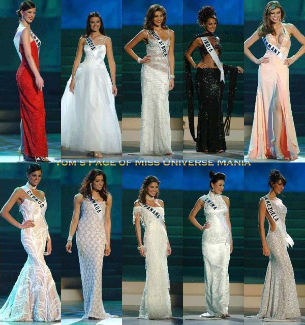 NEW CONTEST: The Evening Gowns of Miss Universe in the 2000\'s SOON