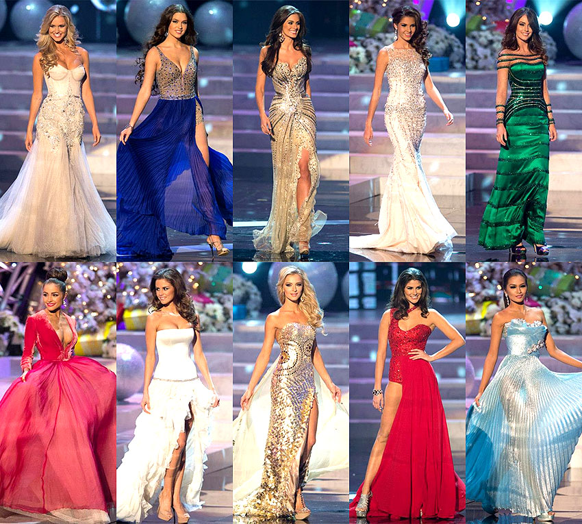 Thoughts of Miss Universe 2012