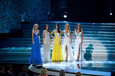 Top 5 of Miss USA 2009