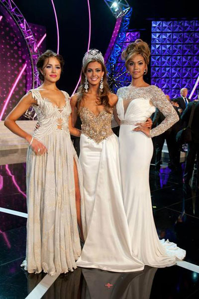 Olivia Culpo-Miss Universe 2012, Erin Brady-Miss USA 2013, Logan West-Miss Teen USA 2012