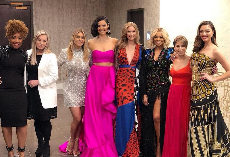 The selection committee for Miss USA 2019